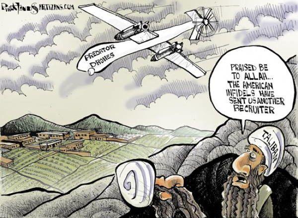 drone, agent de recrutement des plus efficaces